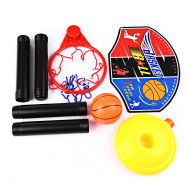 Funny Adjustable Basketball Stand Super Sport Set Child Toy with Inflator Pump