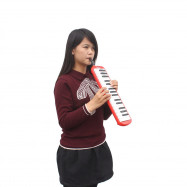 IRIN Portable 32 Key Melodica Student Class Harmonica with Bag