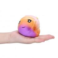 Squishy PU Slow Rising Simulate Rainbow Strawberry Emoji Toy
