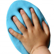 Air Drying Soft Clay Baby Handprint Footprint Imprint Kit Casting Parent-Child Hand Inkpad Fingerprint