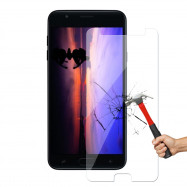 Screen Protector Tempered Glass 2.5D Round Edge for Samsung J7 2018 1pcs