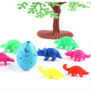 6 Pcs Growing Dinosaur Eggs Hatching Toys Water Kids Educational Novelty