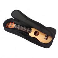 17 inch Spruce Solid Mini Travel Guitar Sealed Machine Head