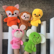 Plush Animals Finger Set Kid Toy 10PCS