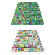 Foldable Kid Care Moisture-proof Playing Crawl Mat Foam Picnic Blanket Rug