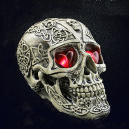 Novelty Resin Skull Halloween Decoration Props