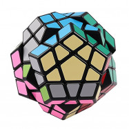Megaminx 12 Sides Speed Cube Twisty 3D Puzzle Game Magic Brain Black