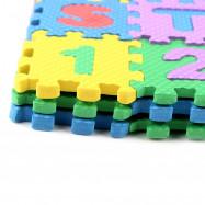 Baby Colorful EVA Foam Alphabet Letters Numbers Mat Jigsaw Puzzle 36PCS