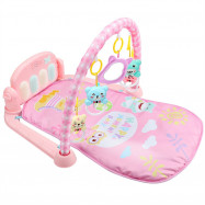 Baby Bodybuilding Frame Pedal Piano Music Carpet Toy