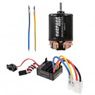 SURPASS HOBBY 540 Brushed Motor with 60A ESC BEC Combo
