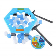 Save Penguins Puzzle Toys Ice Breaking Game Table Icebreaker Chisel