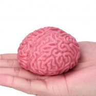 Jumbo Squishy Brain Squeezable Fun Relieve Stress Ball Cure Toys