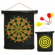 Double-Sided Dart Target 12-INCH Magnetic Darts