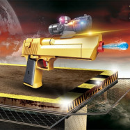 2 in 1 Fashion Children Water Gun Toys Soft Bullet