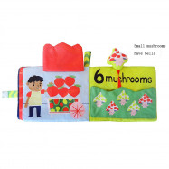 Digital Fruit Animal Puzzle Cloth Book Preschool Toys