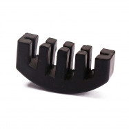 Violin Practice Mute Part Black Rubber Fiddle Silent