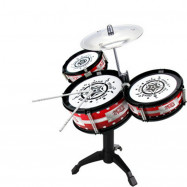 Kids Drum Set  with Small Drum Sticks Musical Instrument Toy for Boys Girls