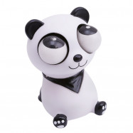 Funny Cartoon Animal Squeeze Pop Toy Out Eyes Doll Stress Relief