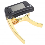 TCapo20 Multifunctional Aluminum Alloy 2-in-1 Guitar Capo Tuner
