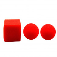 Great Deal Street Magic Trick Comedy Soft Red Sponge Ball