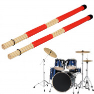 Drumsticks Hot Rods Customized Musical Drum Rute Sticks Brushes