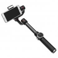 V5 3 Axis Handheld Telescopic Gimbal LED Fill Light Focus Adjusted for 6 inch Smartphone
