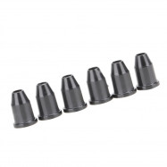 6pcs Guitar String Caps Mounting Buckle