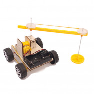 DIY Sweeping Robot Children Science Education Toy