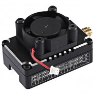Turbowing Torsional Cooling Fan Receiver for Agricultural Spraying Drones