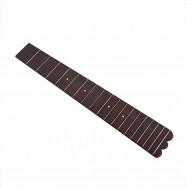 Fretboard Fingerboard 18 Frets Rosewood Ukulele Parts For 26 Concert Scale Ukule