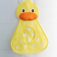 Baby Shower Bath Toys Little Duck / Frog Toy Storage Mesh with Strong Suction Cups