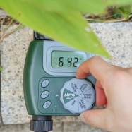 One-outlet Programmable Hose Faucet Timer Watering Tool
