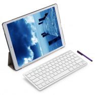 4 in 1 Folding Leather Case Wireless Bluetooth Keyboard Stylus Pen Smart Cover Screen Film for iPad Pro 12.9 Inch