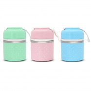 Worthbuy Thermal Lunch Box Stainless Steel Food Container