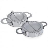 Stainless Steel Dumpling Maker Wraper Dough Cutter Pie Mold Pastry Tool