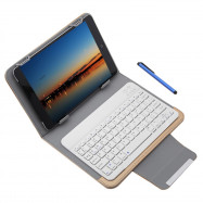 3 in 1 Universal Wireless Bluetooth Keyboard Tablet Protective Case with Stander for iOS / Android / Windows 9 / 10 inch