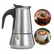 Stovetop Espresso Maker Stainless Steel Moka Coffee Pot