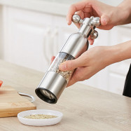 Stainless Steel Manual Pepper Grinder Cooking Tool