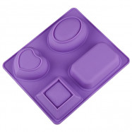 Silicone Handmade Soap Mold High Temperature Resistant Mould