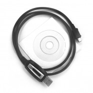 Original TYT Hand Held 1m Programming USB Cable for TYT TH-9800 TH-7800 Walkie Talkie with Software CD