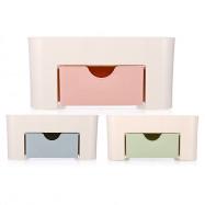 Multi-compartment Desktop Cosmetic Storage Box Container