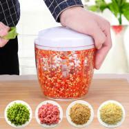 Manual Vegetable Garlic Crusher Cutter Kitchen Tool