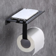 Toilet Roll Paper Phone Holder Bathroom Rack
