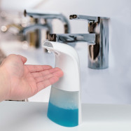 Automatic Induction Foam Soap Dispenser Hand Washer for Kitchen Bathroom