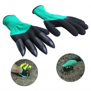 Garden Gloves With Fingertips Claws Quick and Easy To Dig and Plant Sheath