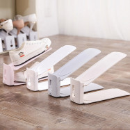 SN0086 Plain Adjustable Double Shoe Rack
