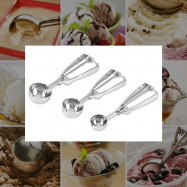 Non-magnetic Stainless Steel Ice Cream Fruit Scoop