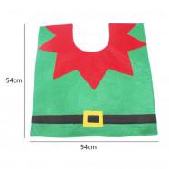 Creative Christmas Decoration 3PCS Wizard Toilet Cover Sets