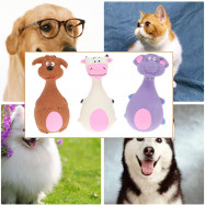 Latex Lovely Animal Modeling Voice Pet Toy