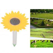 Sunflower Solar Energy Ultrasonic Mole Repellent Snake Ant Repeller
